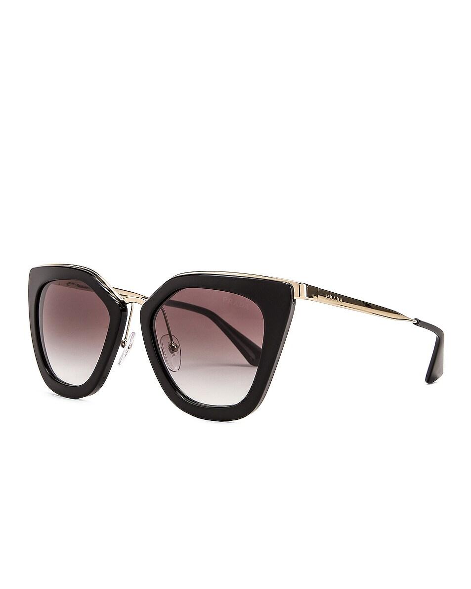 Image 2 of Prada Square Sunglasses in Black