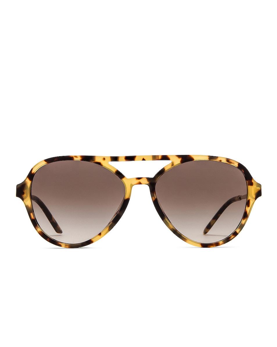 Image 1 of Prada Pilot Sunglasses in Tortoise