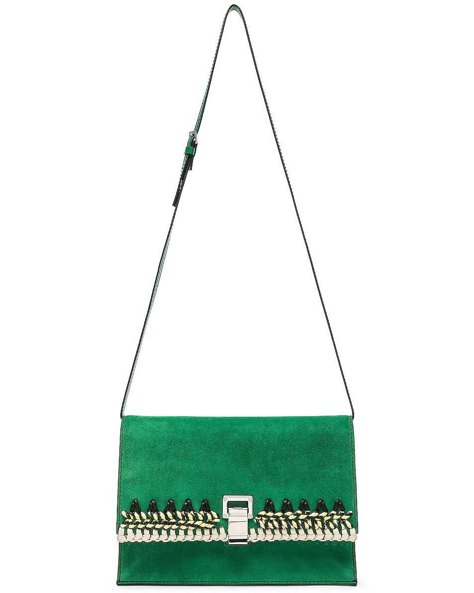 Image 6 of Proenza Schouler Small Crochet Bag in Palm