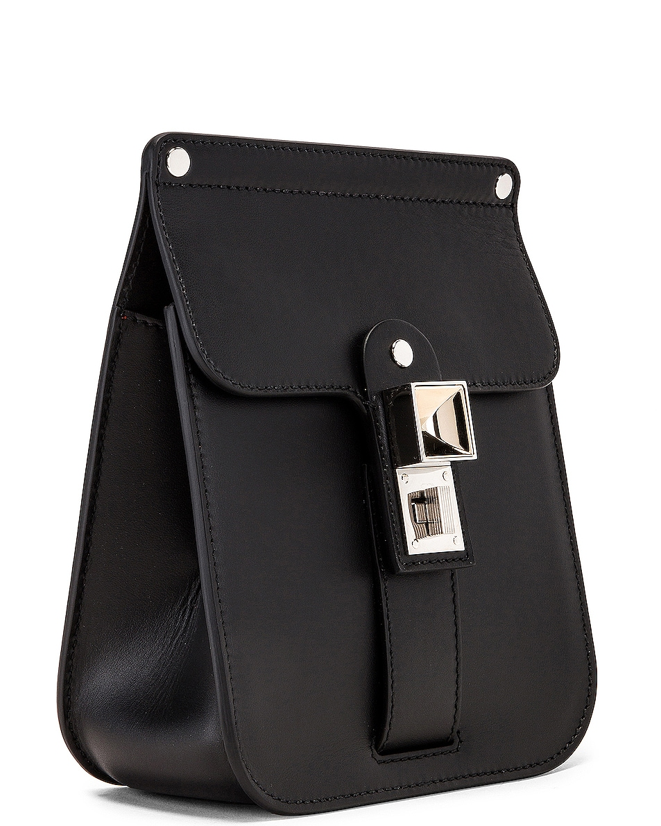 Image 4 of Proenza Schouler PS11 Box Bag in Black