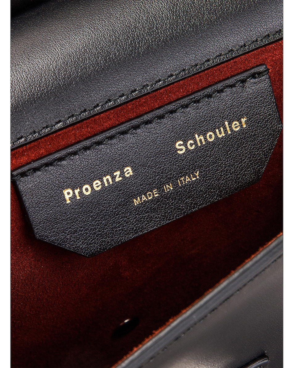 Image 7 of Proenza Schouler PS11 Box Bag in Black