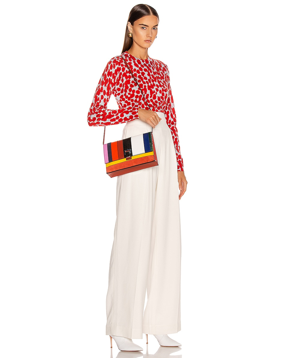 Image 2 of Proenza Schouler Small Patchwork Bag in Multi