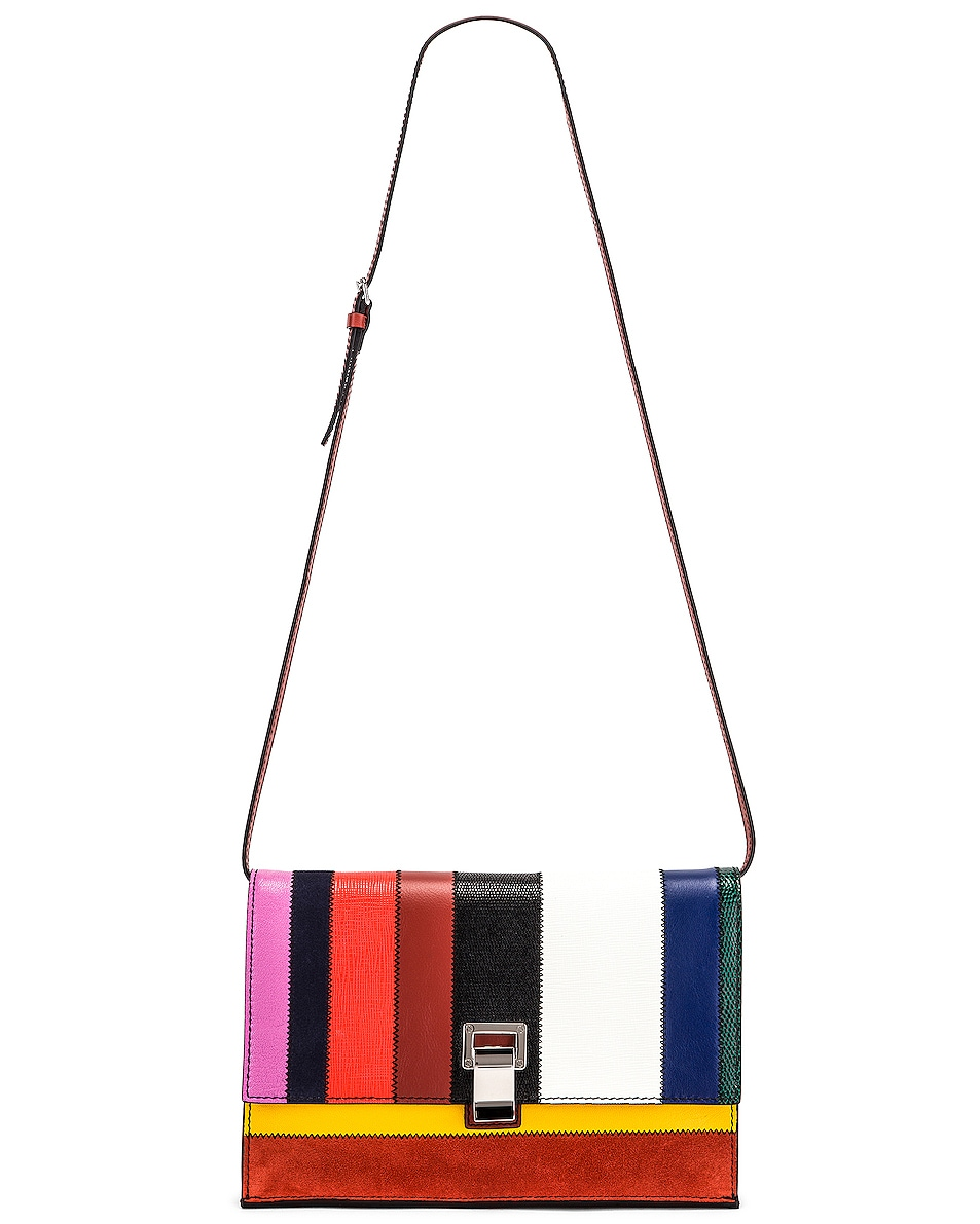 Image 6 of Proenza Schouler Small Patchwork Bag in Multi