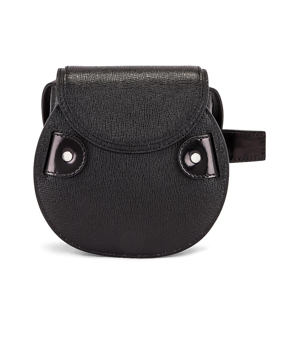 Image 3 of Proenza Schouler Mini Leather Buckle Crossbody Bag in Black