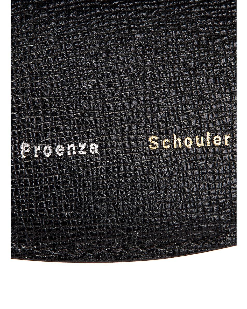 Image 7 of Proenza Schouler Mini Leather Buckle Crossbody Bag in Black