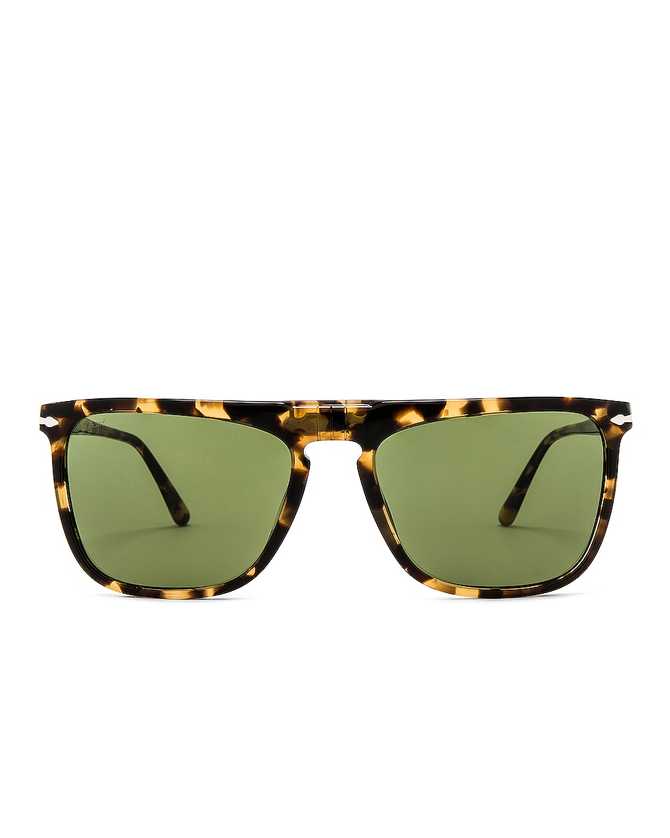 Image 1 of Persol PO3225S in Tortoise Brown Beige & Green