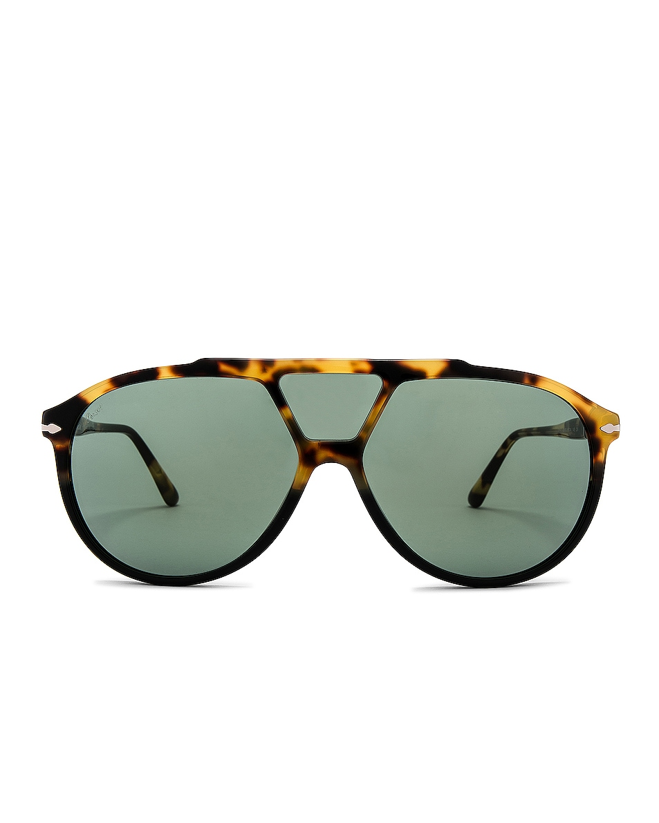 Image 1 of Persol PO3217S in Tortoise Brown Black & Green
