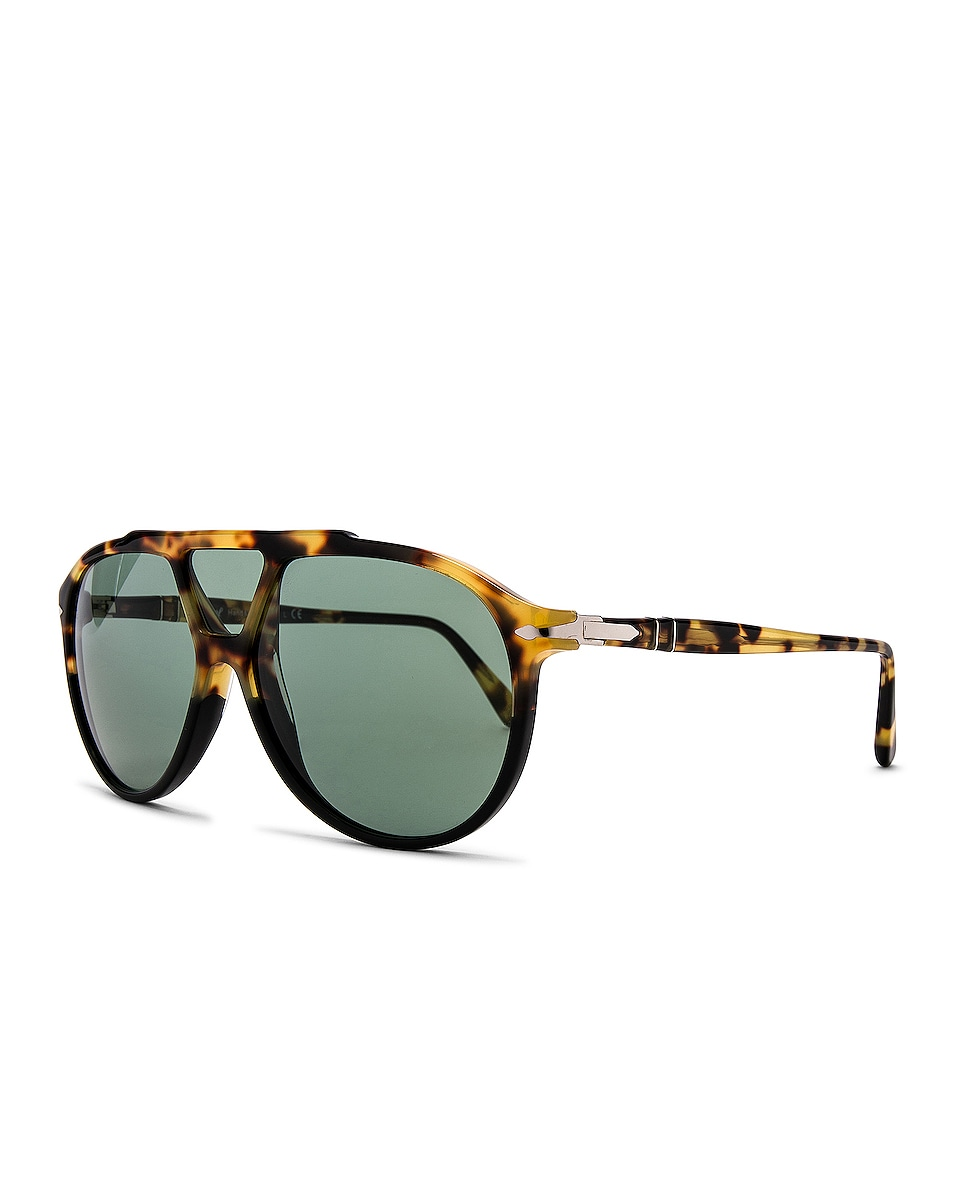 Image 2 of Persol PO3217S in Tortoise Brown Black & Green