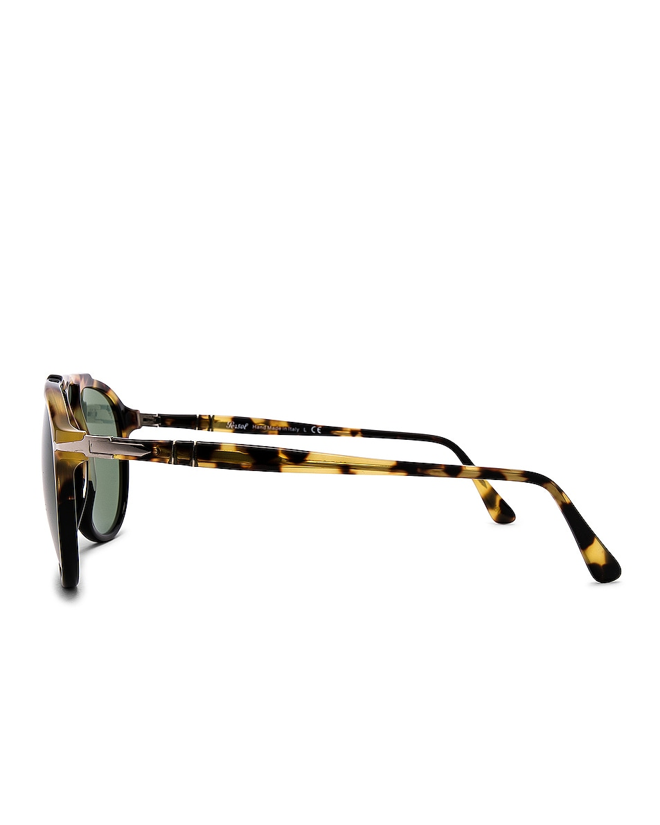 Image 3 of Persol PO3217S in Tortoise Brown Black & Green