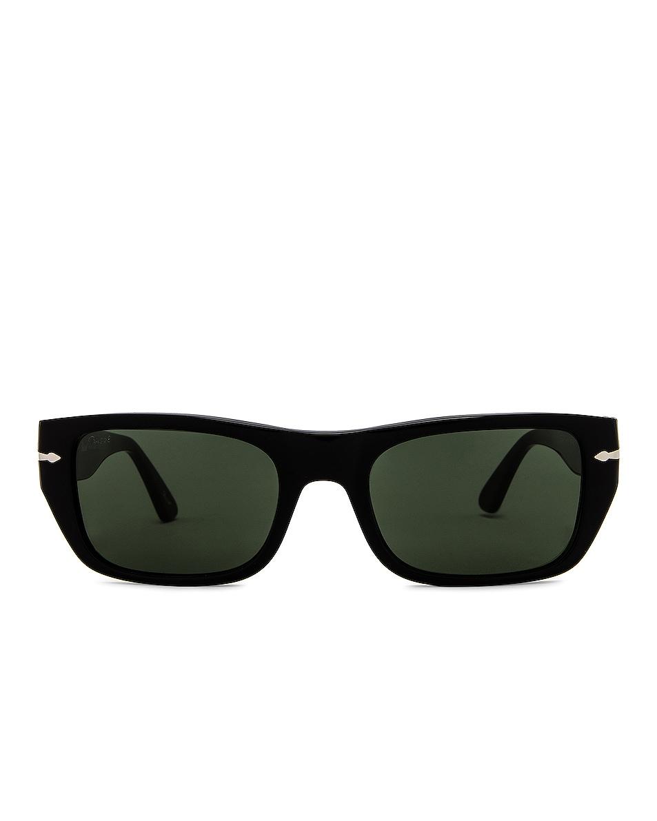 Image 1 of Persol PO3268S Sunglasses in Black & Green