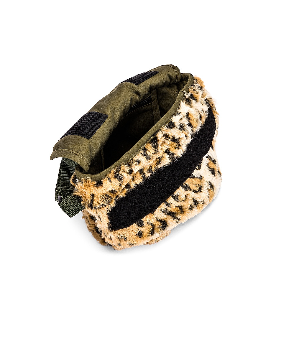 Image 5 of R13 Mini Messenger Bag in Leopard