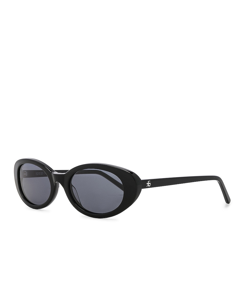 Image 2 of Roberi and Fraud Betty Sunglasses in Black