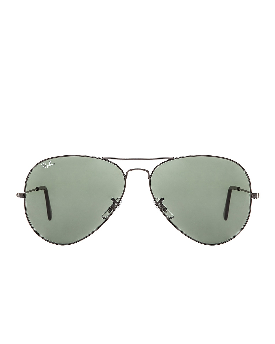 Image 1 of Ray-Ban Aviator Large Metal II Sunglasses in Black