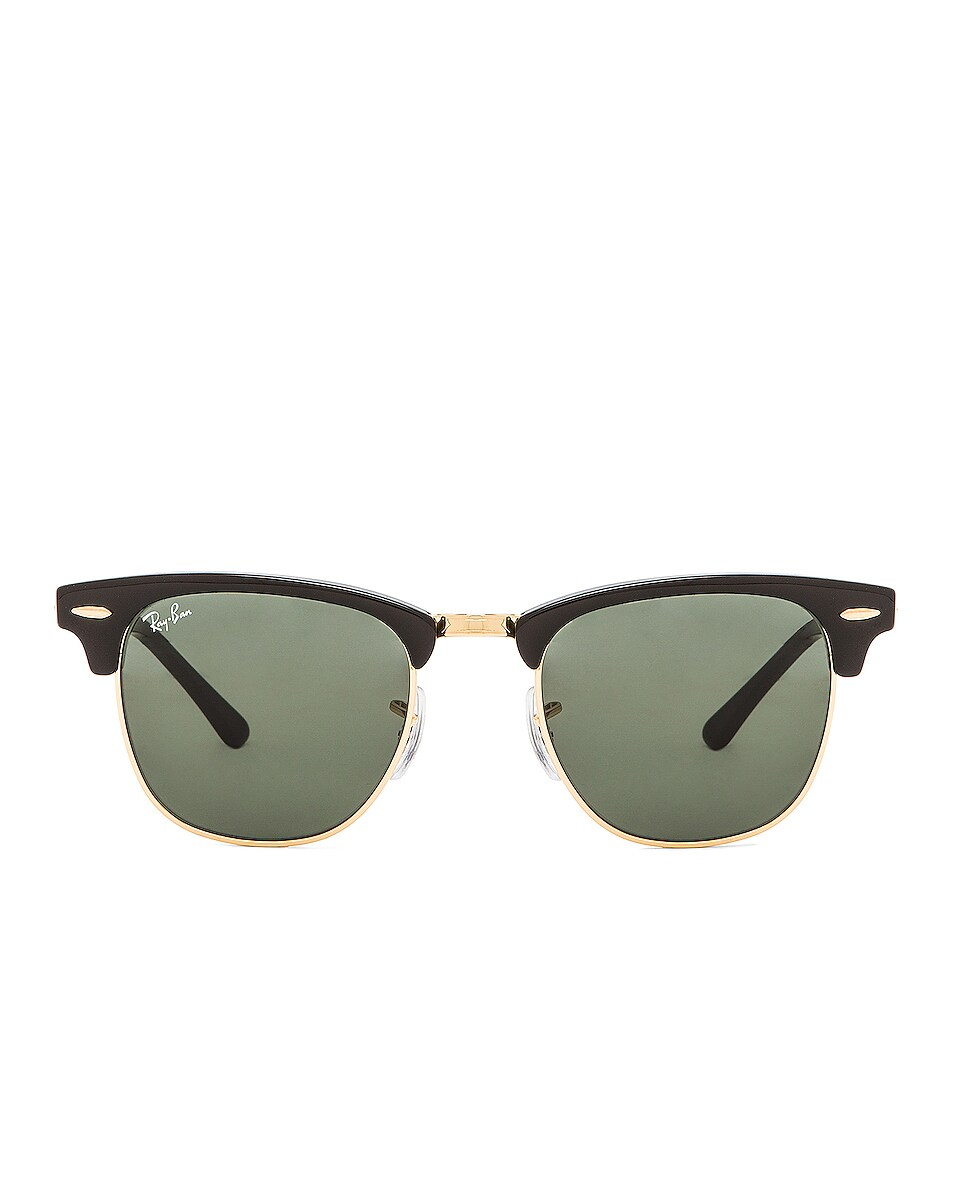 Image 1 of Ray-Ban Clubmaster Classic Sunglasses in Black
