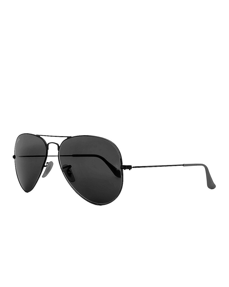 Image 2 of Ray-Ban Aviator Classic Sunglasses in Black