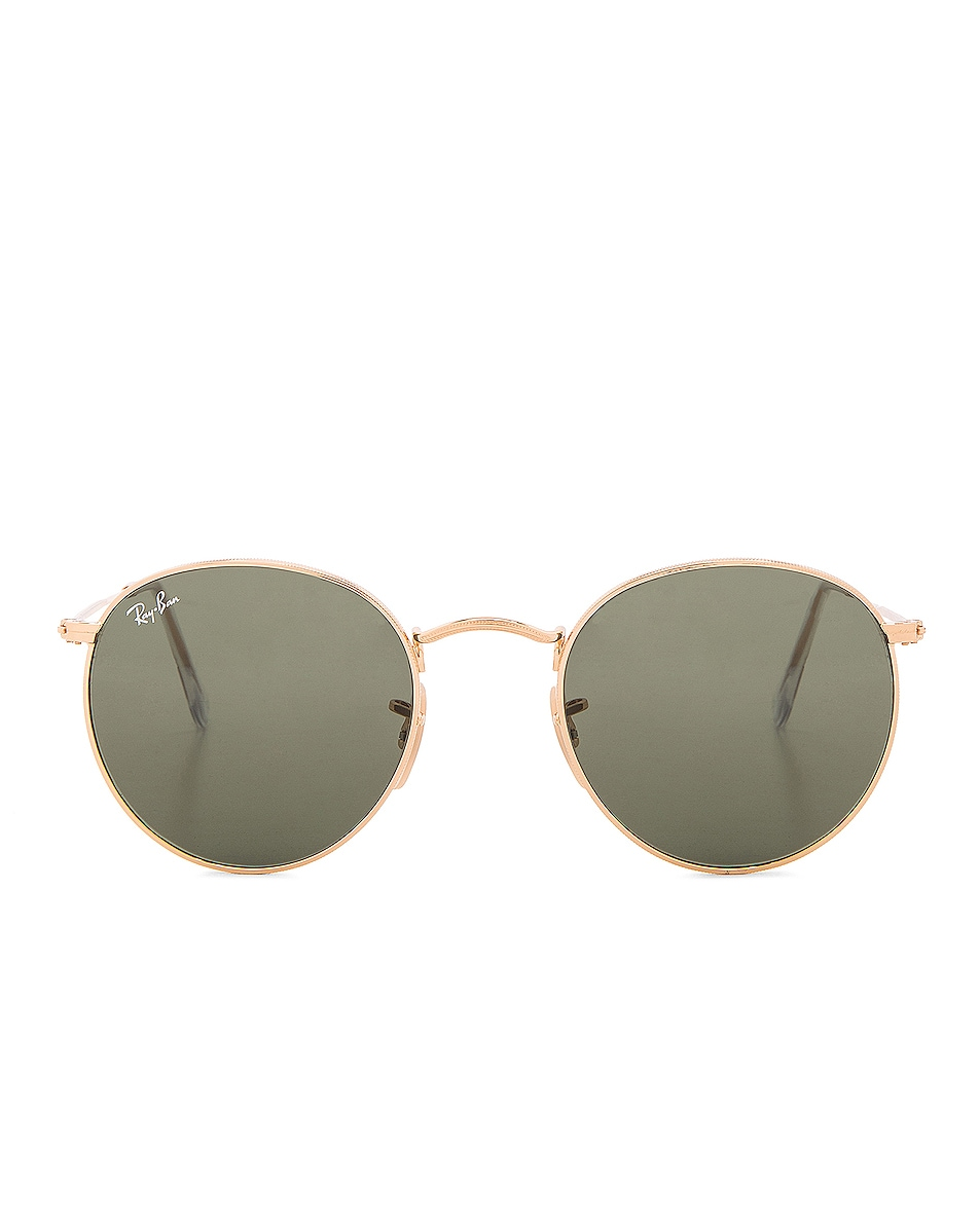 Image 1 of Ray-Ban Round Sunglasses in Green Classic