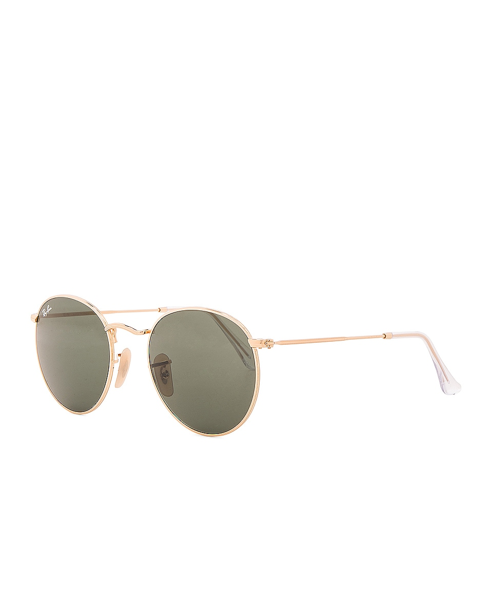 Image 2 of Ray-Ban Round Sunglasses in Green Classic