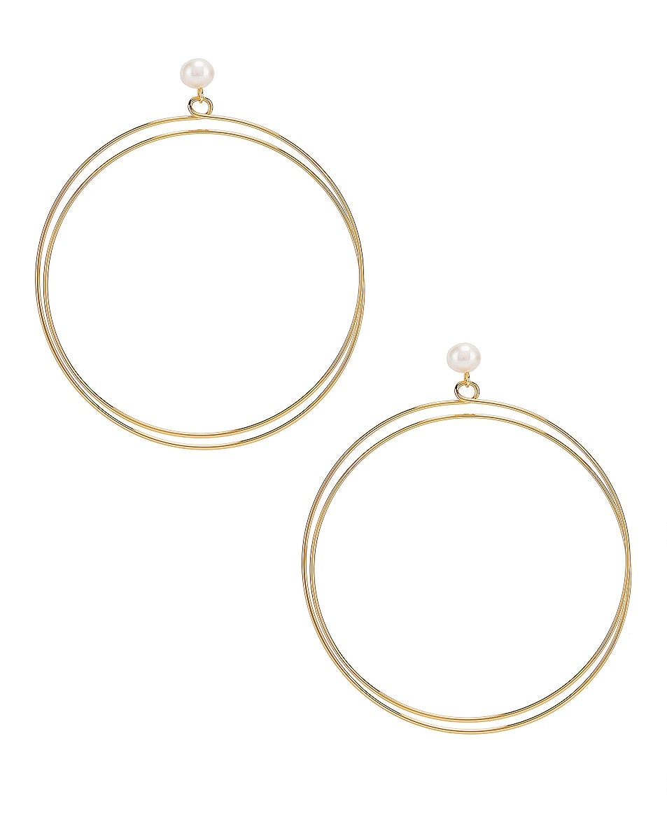 Image 1 of Rachel Comey Sphere Earrings in Gold