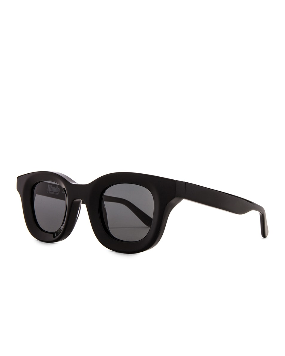 Image 2 of Rhude x Thierry Lasry Rhodeo Glasses in Grey