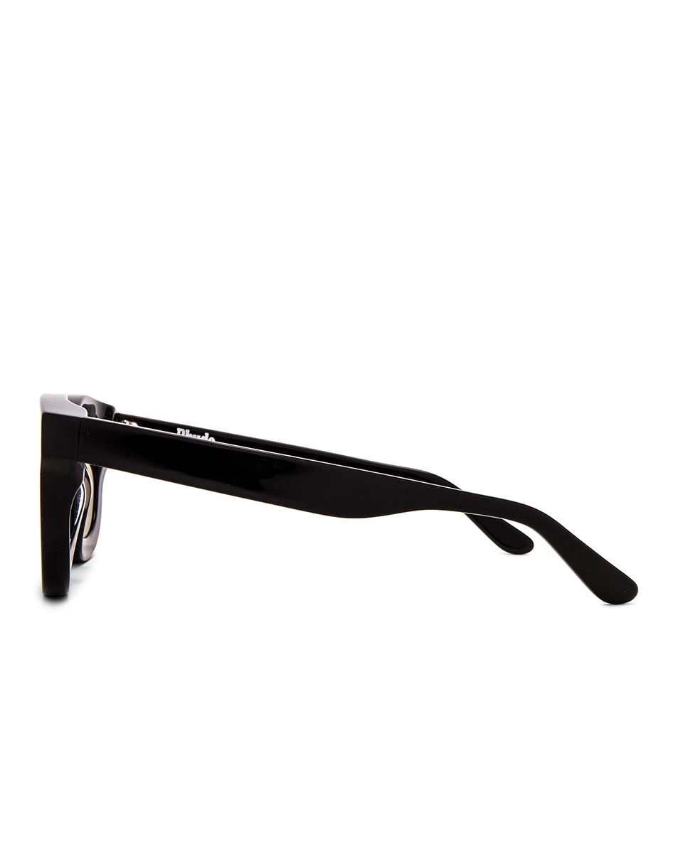 Image 3 of Rhude x Thierry Lasry Rhodeo Glasses in Grey