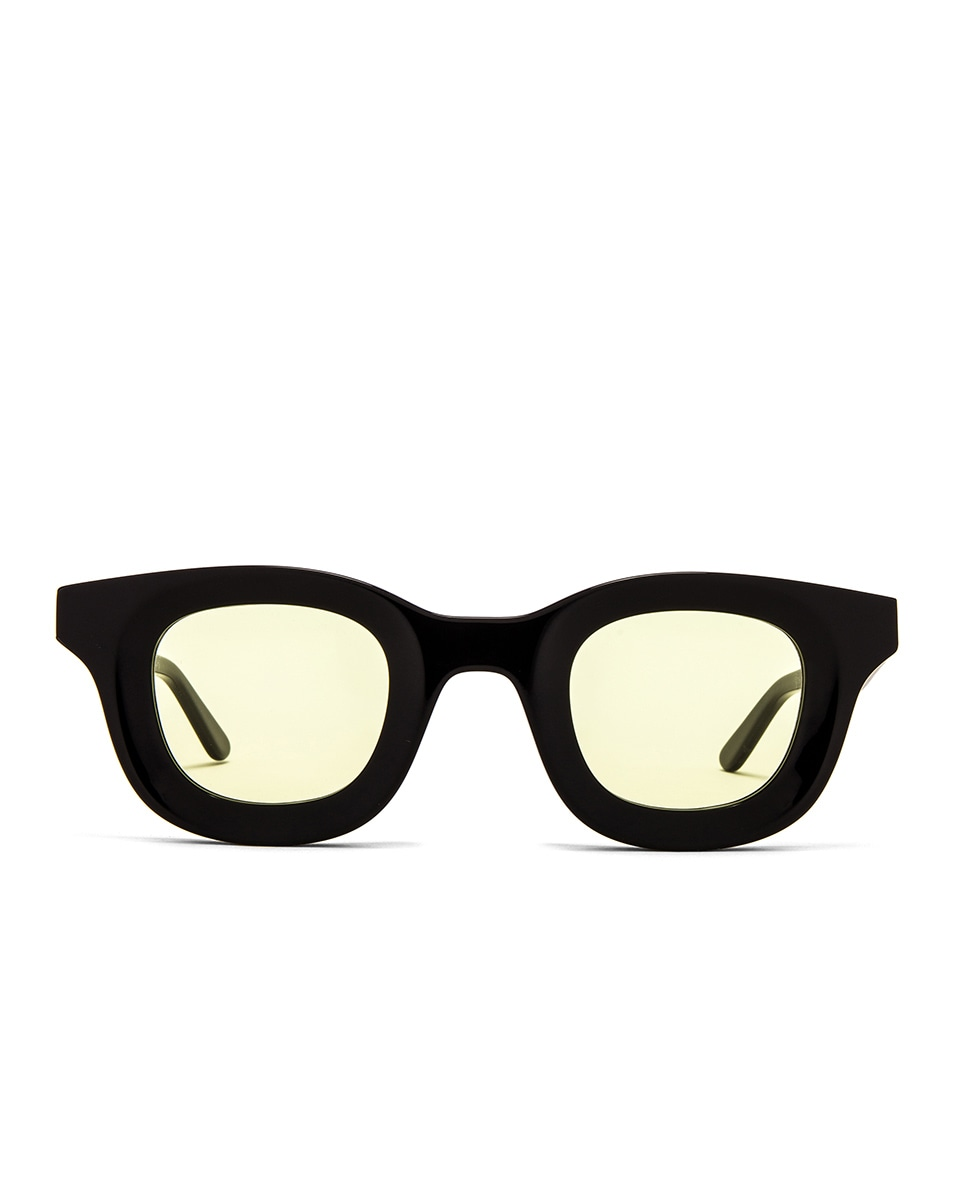 Image 1 of Rhude x Thierry Lasry Rhodeo Glasses in Yellow