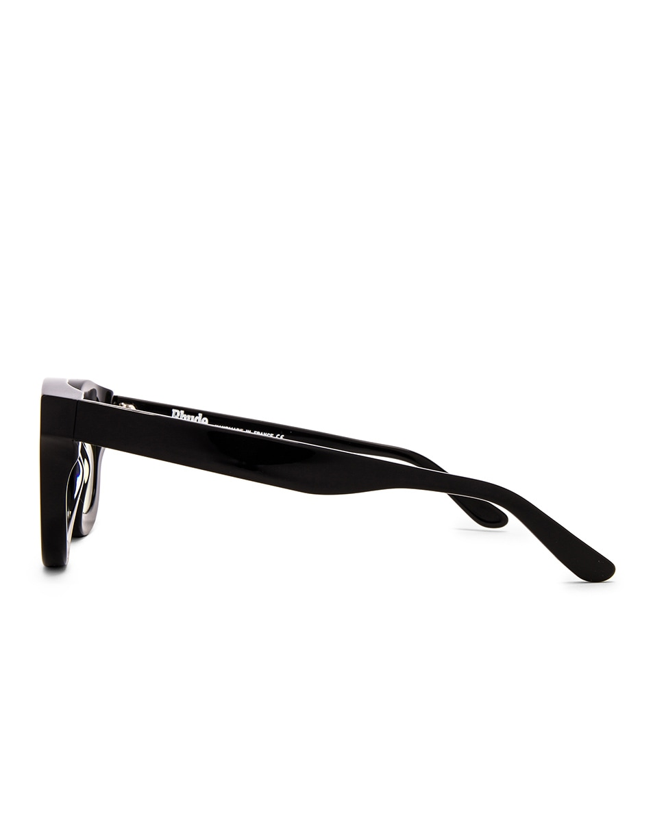 Image 3 of Rhude x Thierry Lasry Rhodeo Glasses in Yellow