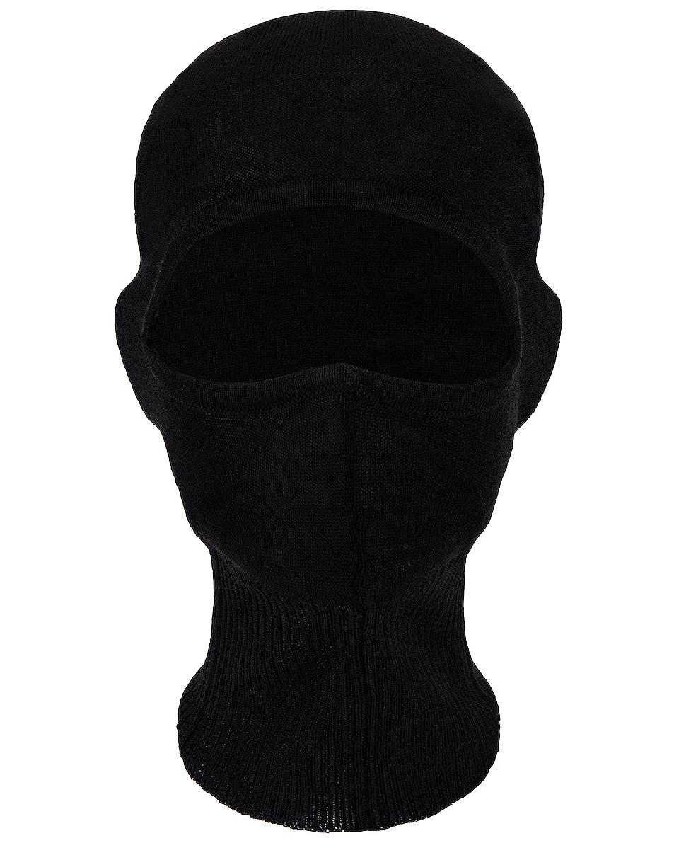 Image 1 of Rick Owens Balaclava in Black