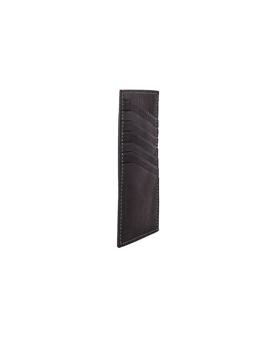 Image 3 of Rick Owens Vertical CC Holder in Black