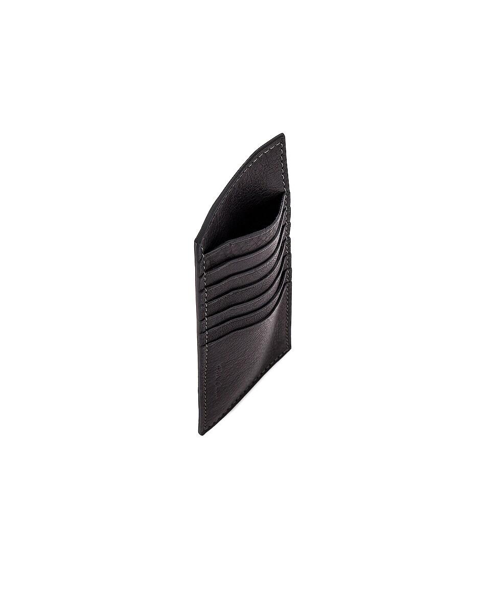 Image 4 of Rick Owens Vertical CC Holder in Black