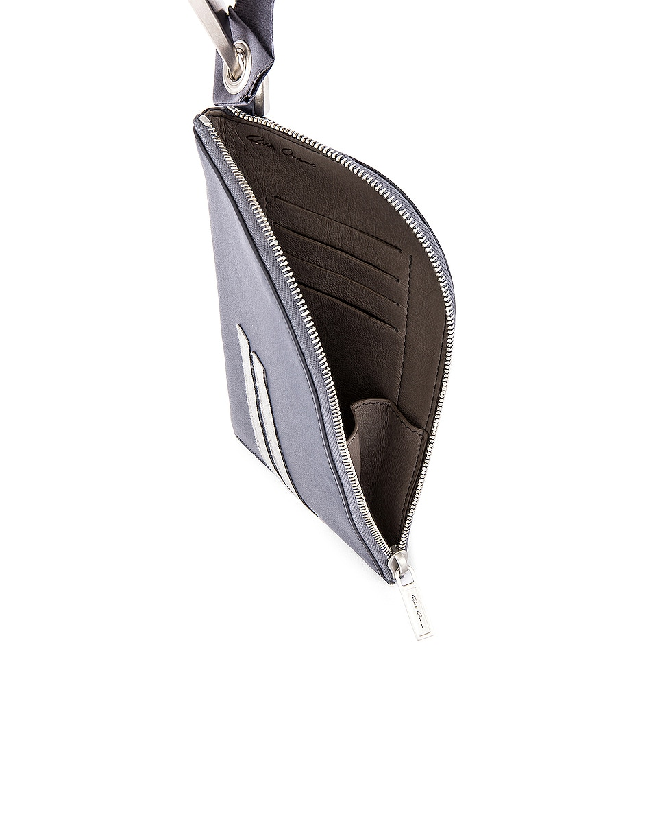 Image 4 of Rick Owens Classic Neckwallet in Blue