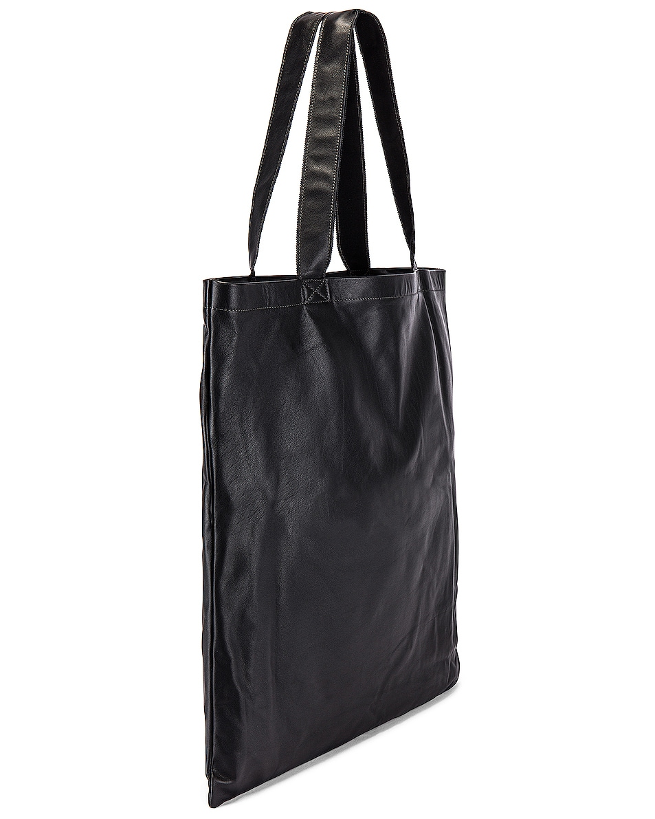 Image 3 of Rick Owens Large Signature Tote in Black
