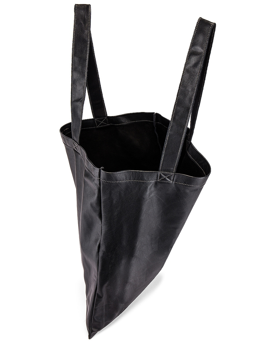 Image 4 of Rick Owens Large Signature Tote in Black