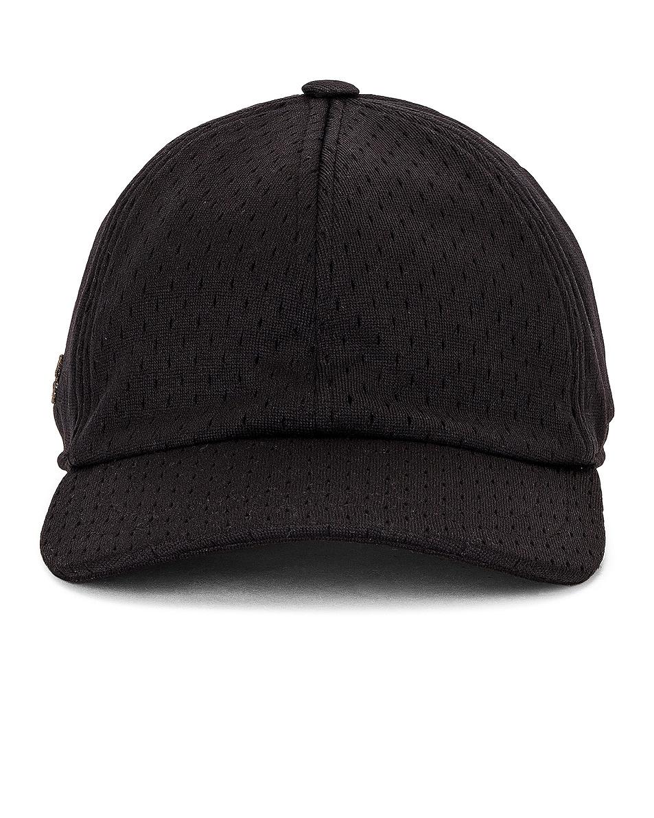Image 1 of Rick Owens x Champion Mesh Baseball Cap in Black