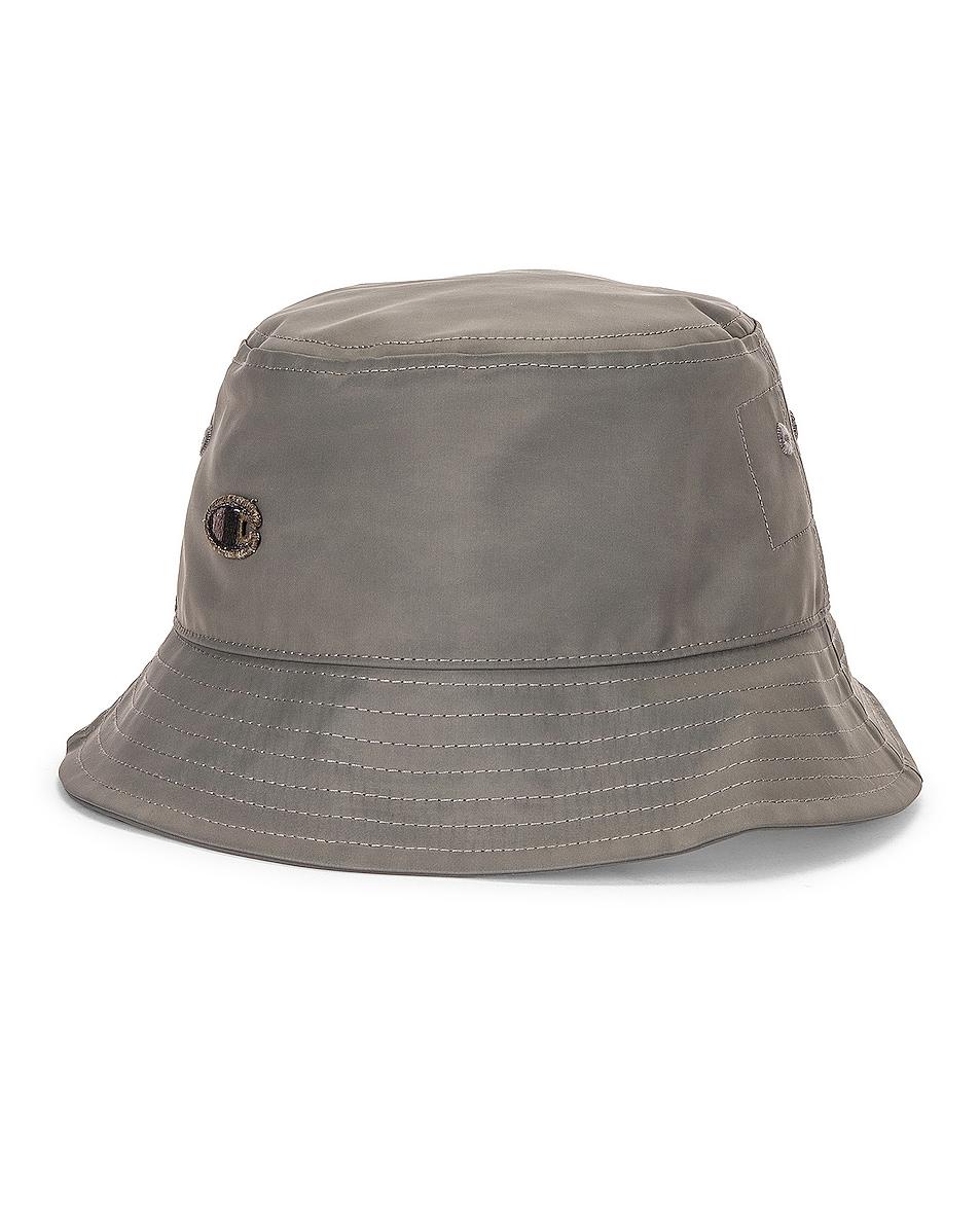 Image 1 of Rick Owens x Champion Nylon Gilligan Hat in Dust