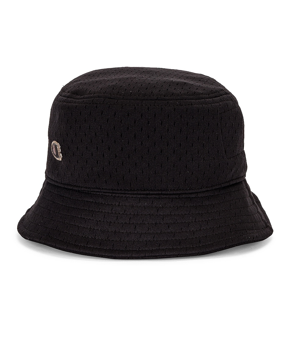 Image 1 of Rick Owens x Champion Mesh Gilligan Hat in Black