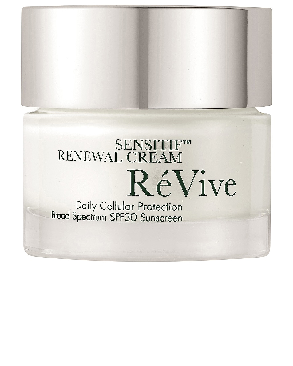 Image 1 of ReVive Sensitif Renewal Cream Daily Cellular Protection Broad Spectrum SPF 30 Sunscreen in