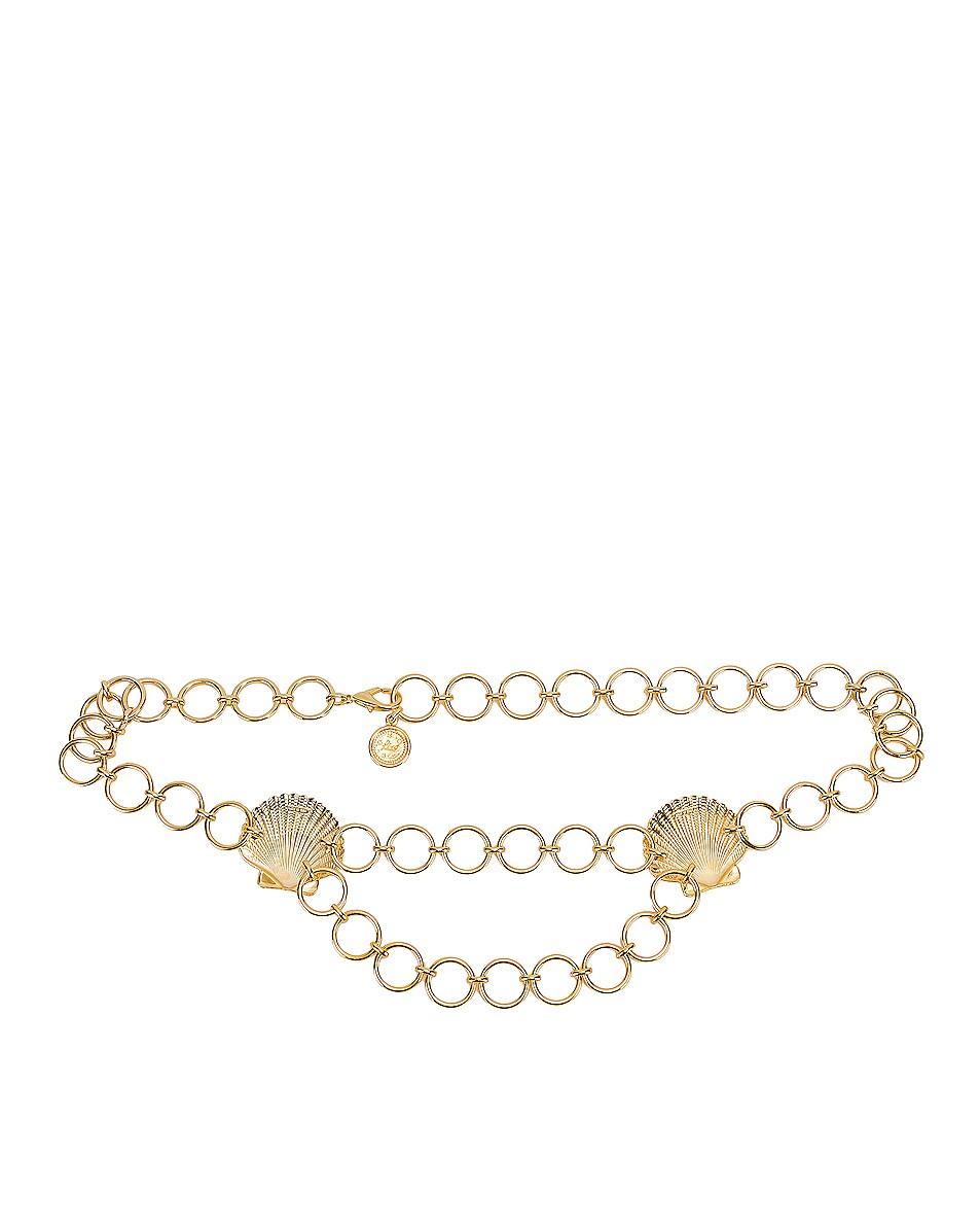 Image 2 of RIXO Darcie Belt in Gold