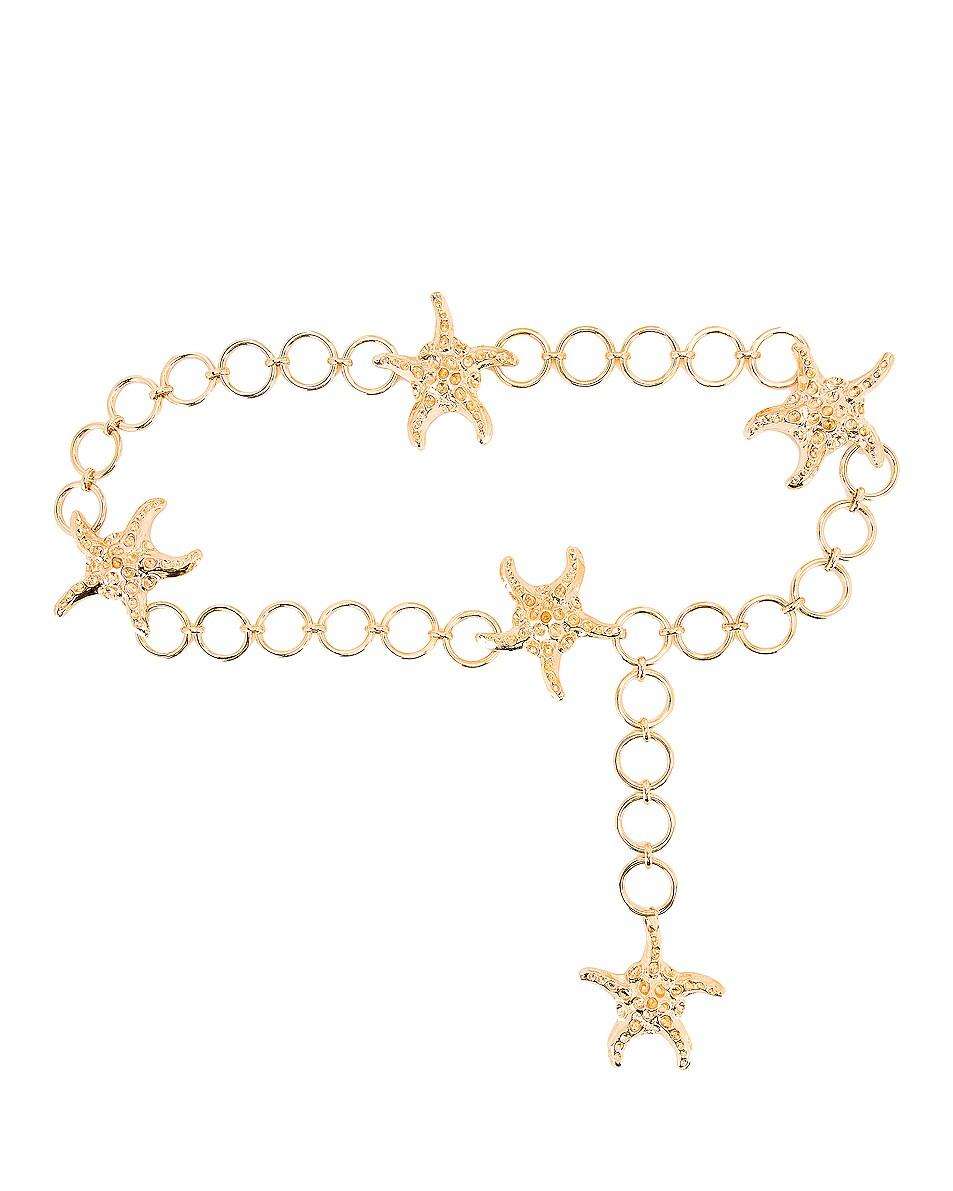 Image 1 of RIXO Tanya Belt in Gold