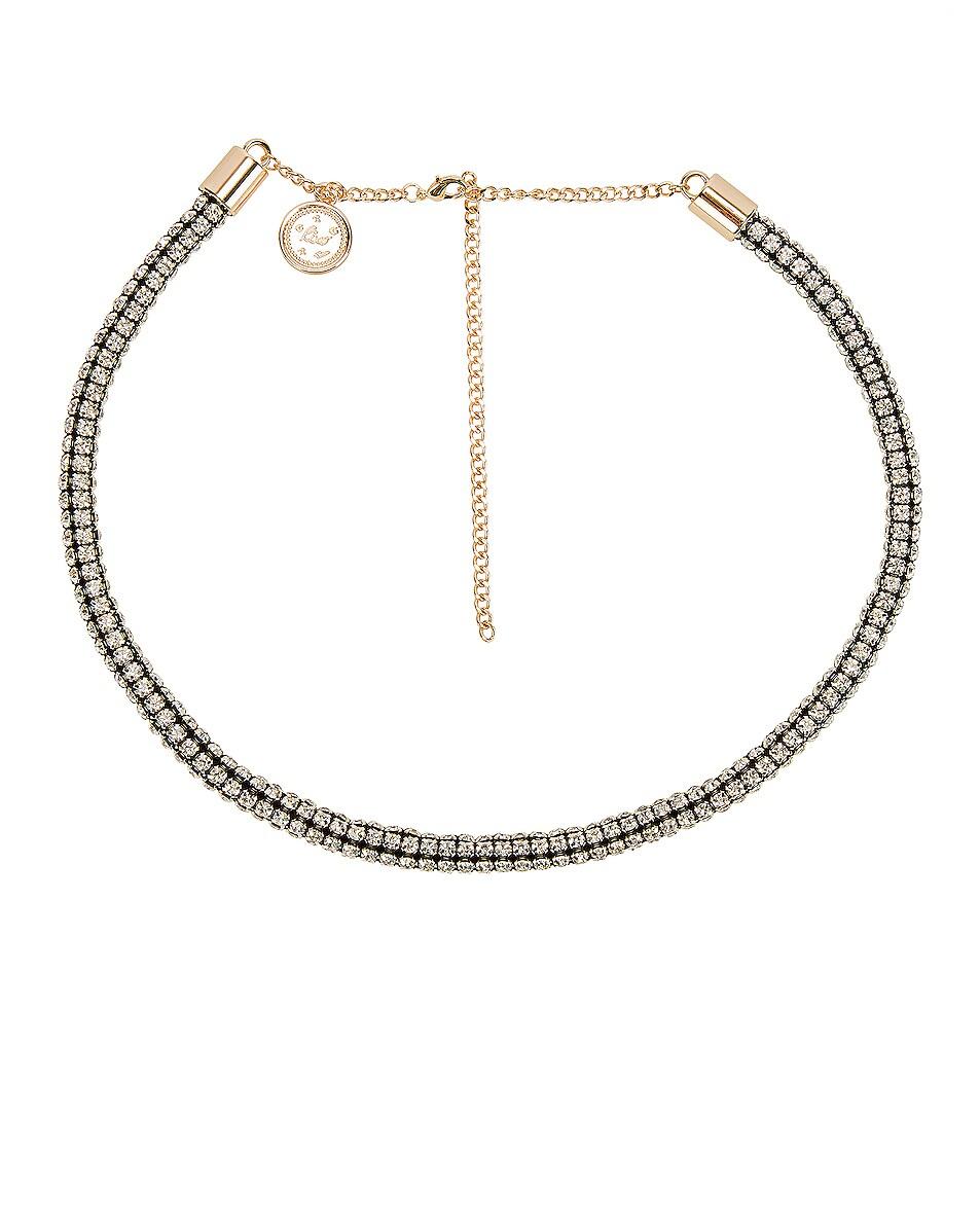 Image 1 of RIXO Arlo Belt in Diamante & Gold