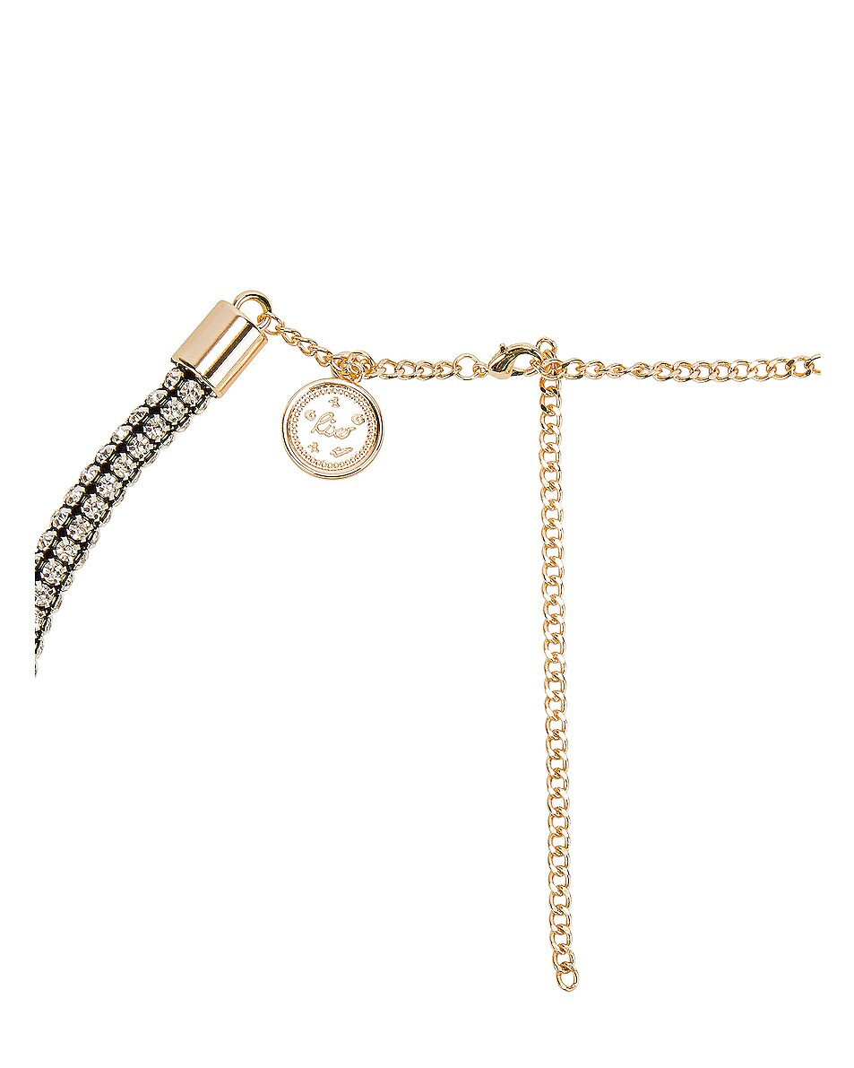 Image 2 of RIXO Arlo Belt in Diamante & Gold