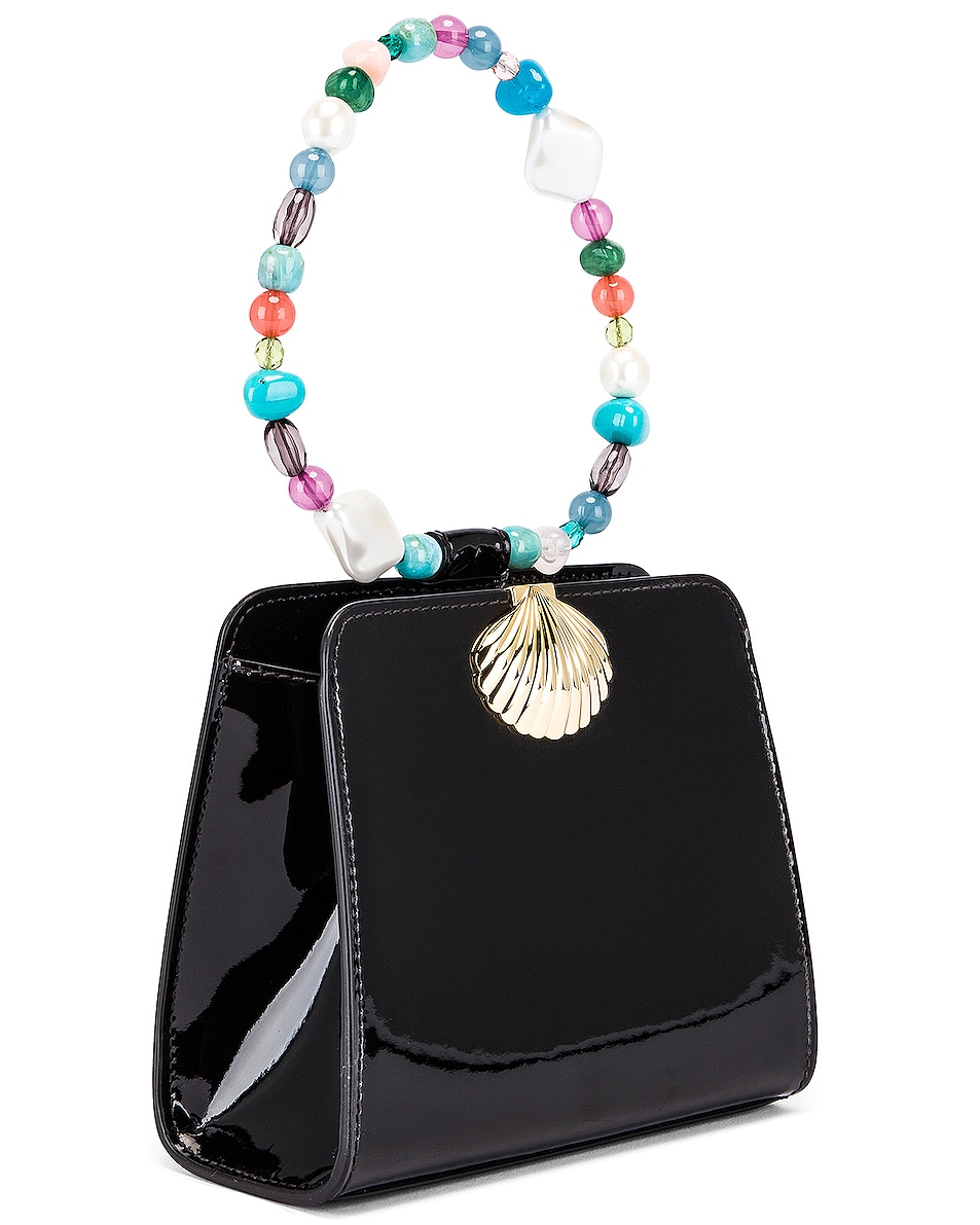 Image 4 of RIXO Amelie Bag in Black Patent