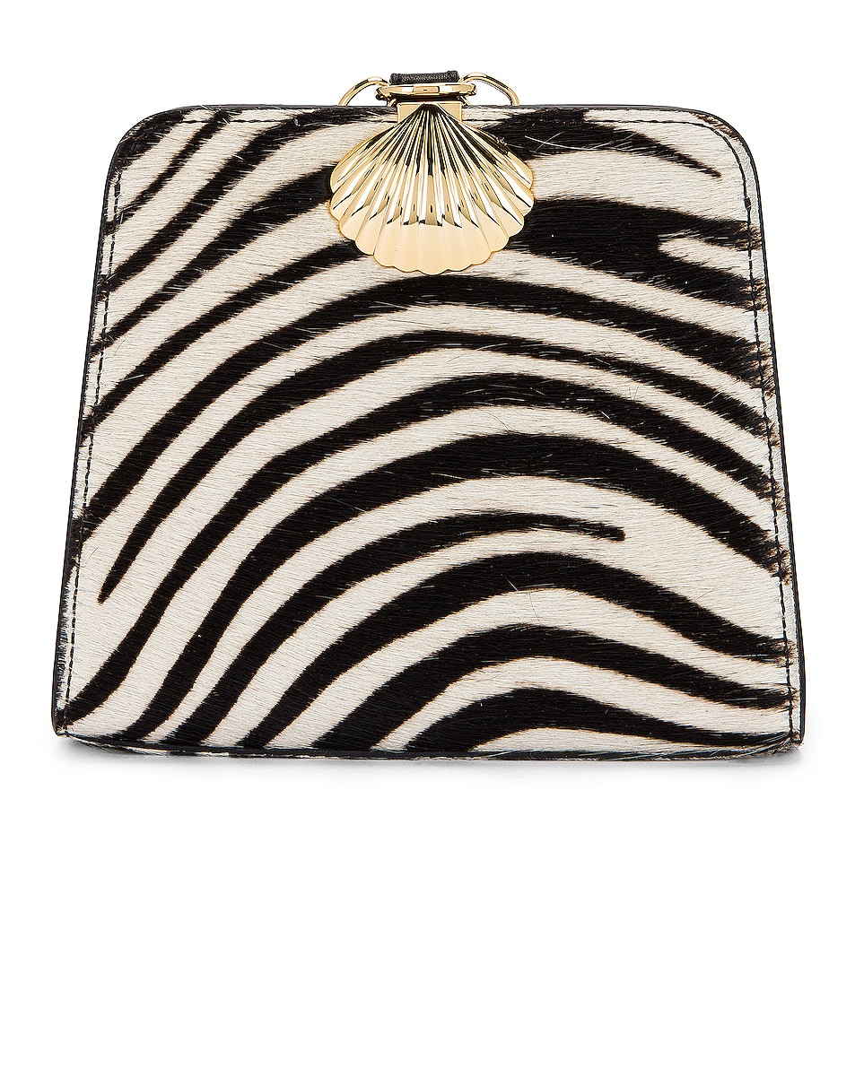 Image 1 of RIXO Amelie Bag in Mono Zebra