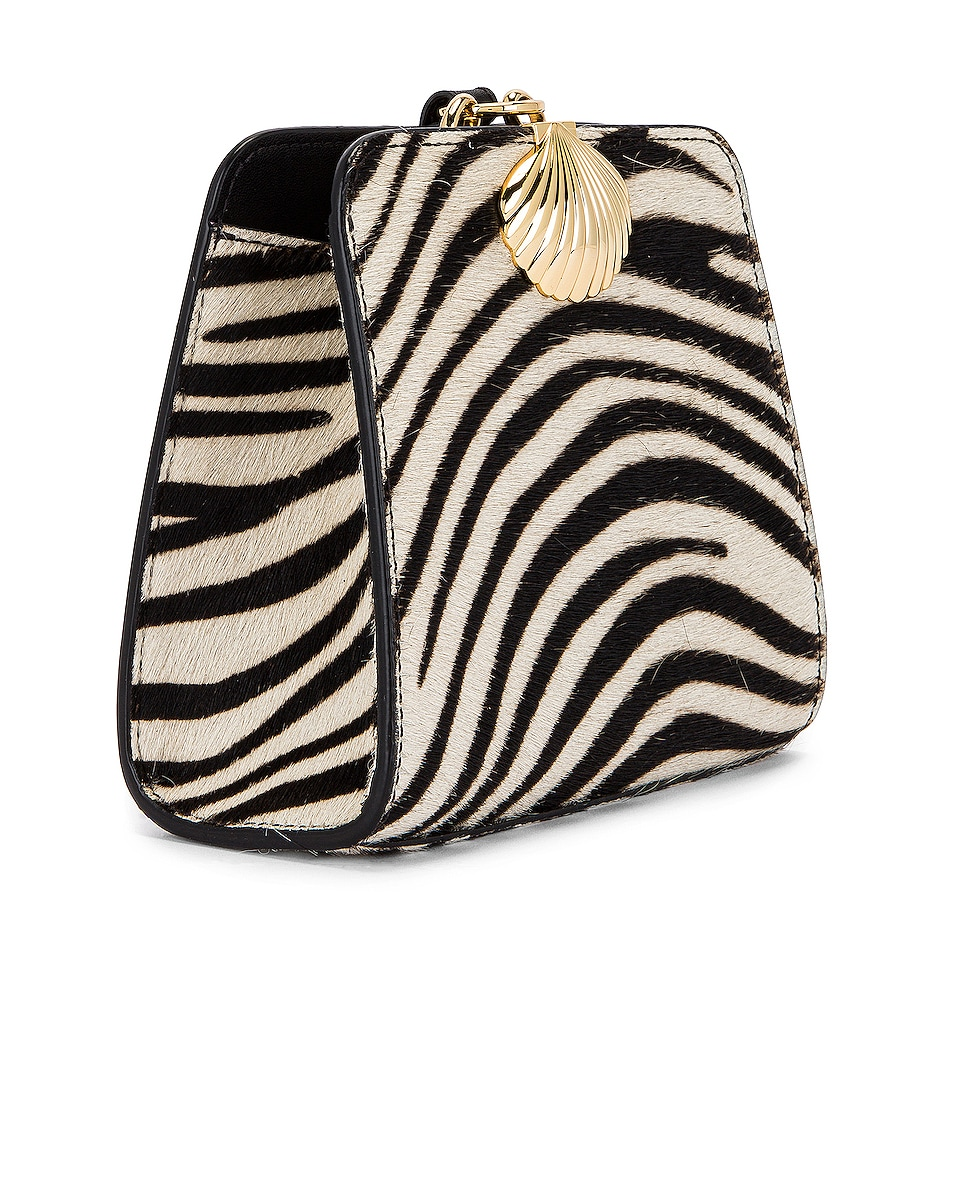 Image 4 of RIXO Amelie Bag in Mono Zebra