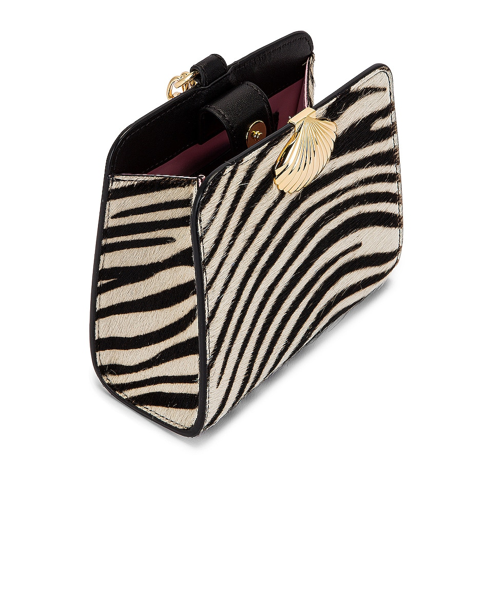 Image 5 of RIXO Amelie Bag in Mono Zebra