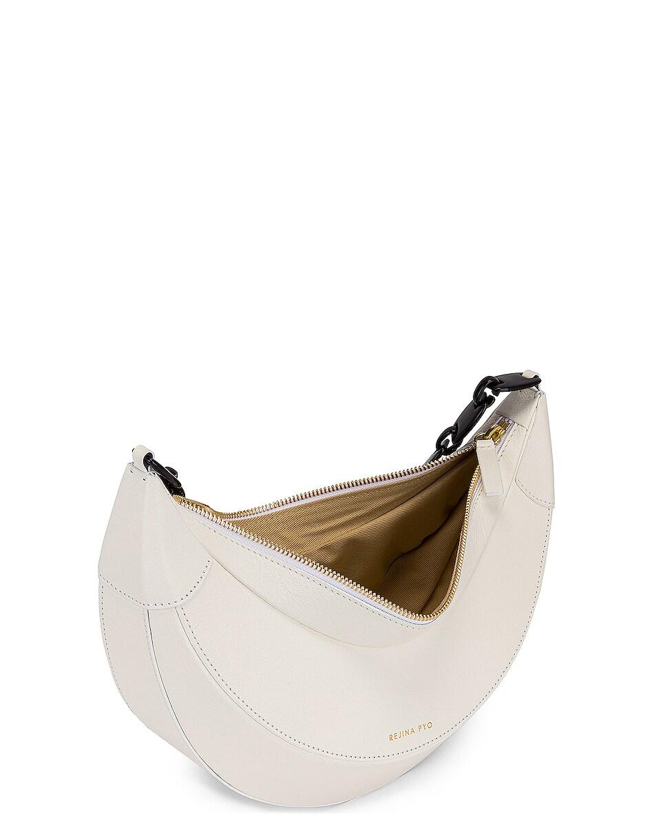 Image 5 of REJINA PYO Banana Bag in White