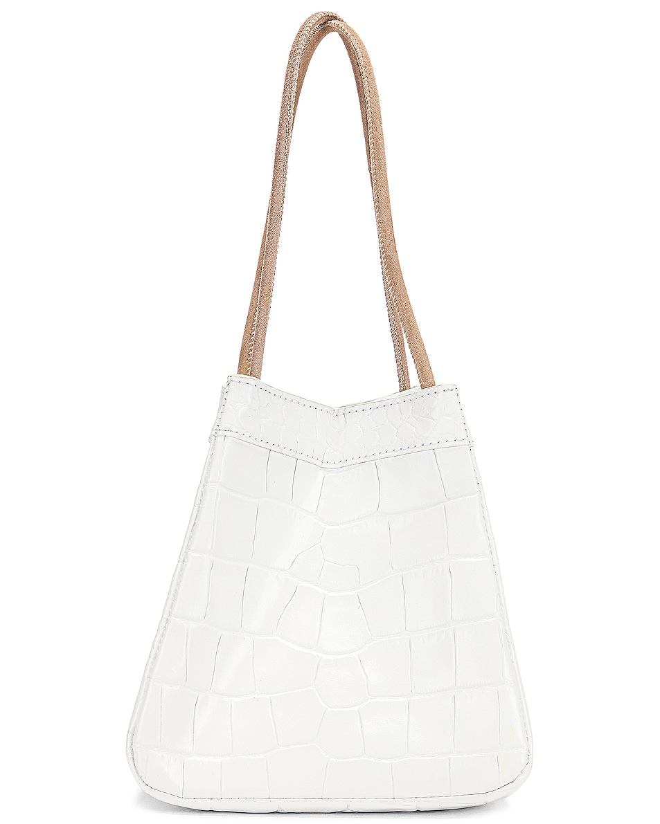 Image 3 of REJINA PYO Rita Bag in Croc White
