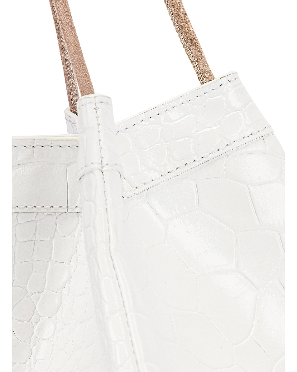 Image 7 of REJINA PYO Rita Bag in Croc White