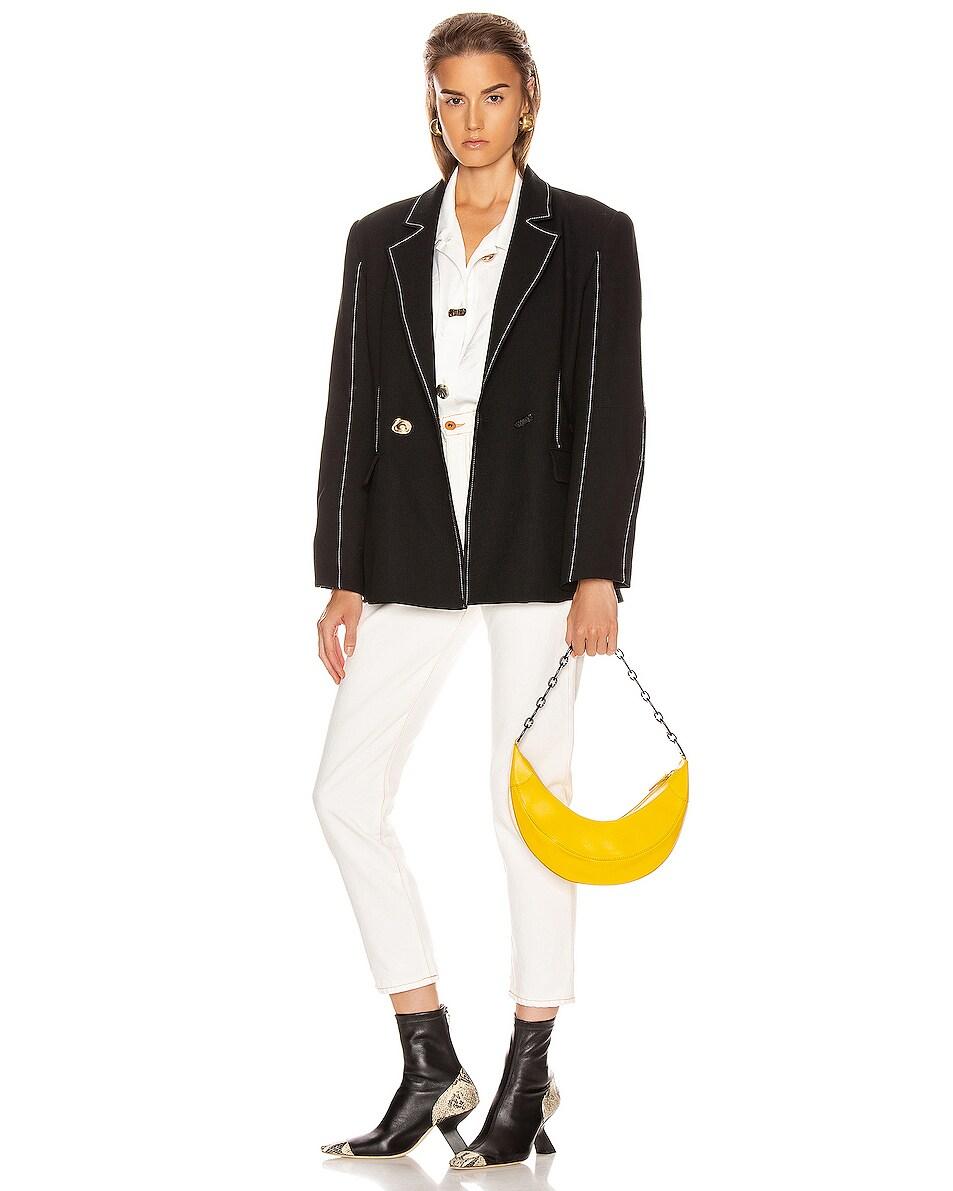 Image 2 of REJINA PYO Banana Bag in Yellow