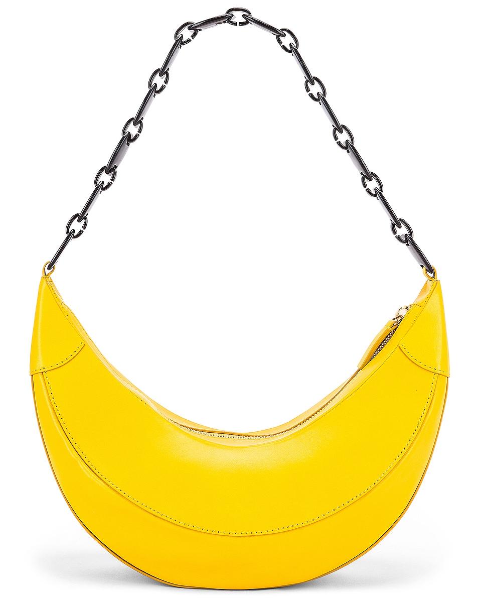 Image 3 of REJINA PYO Banana Bag in Yellow
