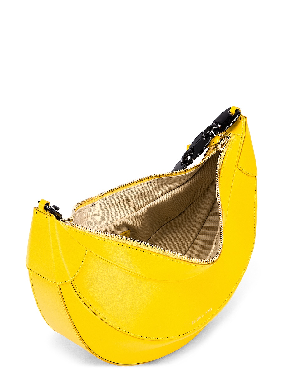 Image 5 of REJINA PYO Banana Bag in Yellow